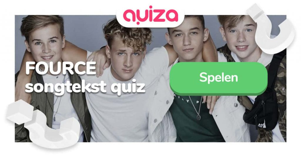 fource songtekst quiz op quiza facebook